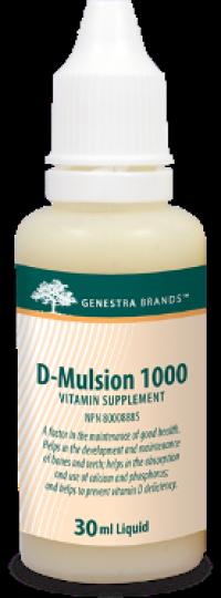 Genestra D-Mulsion 1000 (Vitamin D)