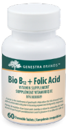 Genestra Bio B12 + Folic Acid