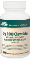 Genestra D3 1000 Chewable (Vitamin D)