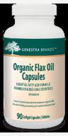 Genestra Flax Oil Capsules (Organic)