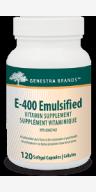 Genestra E 400 Emulsified (Vitamin E)