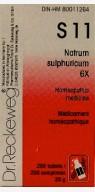 S11 Natrum sulphuricum