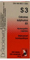 S3 Calcarea sulphurica
