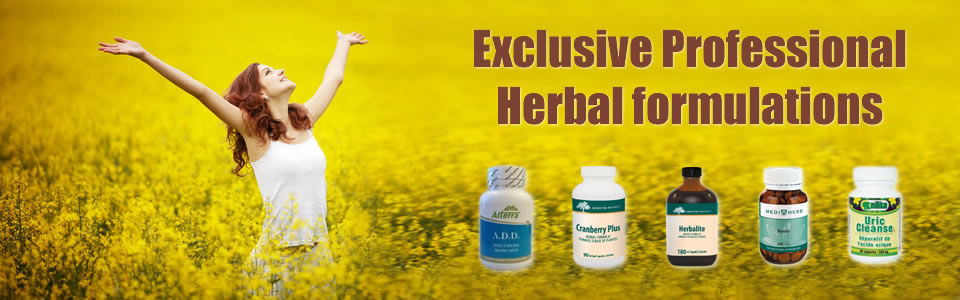 Professional herbal formulations