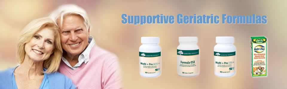 Supportive geriatric formulas